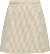 Theory Teslia J. jacquard mini skirt