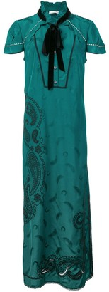 Coach paisley print dress