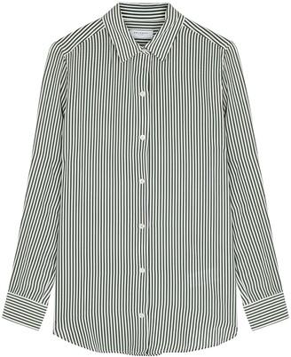 Equipment Essential Striped Silk Shirt