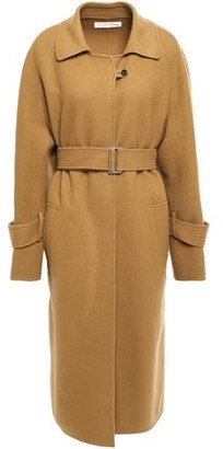 Victoria Beckham Belted Wool And Cashmere-blend Coat