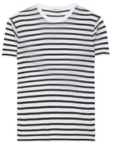 Alexander Wang Striped Jersey T-shirt