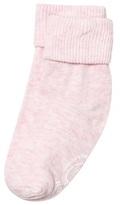 Melton 1-pack Baby Melange Socks Hushed Violet
