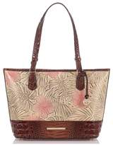 Brahmin Medium Asher Print Leather Tote