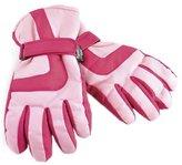 Boys Girls Kids Thinsulate 3M 40 gram Thermal Insulated Winter / Black Waterproof Ski Gloves