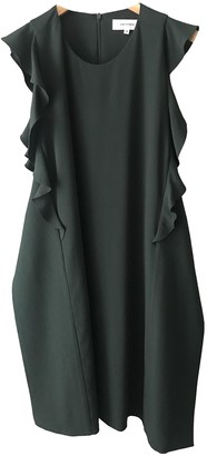 Carven Green Polyester Dresses