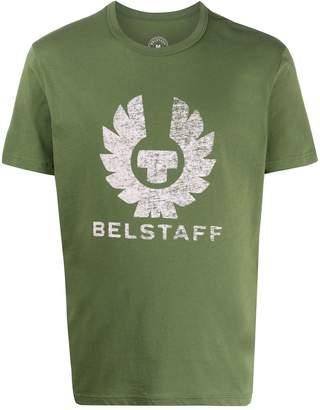 Belstaff printed logo crest T-shirt