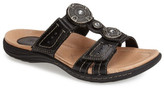 Earth 'Papaya' Leather Sandal (Women)