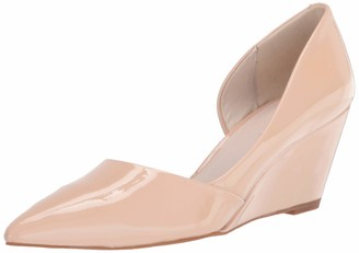 Kenneth Cole New York Women's D'Orsay Wedge Pointed Toe Pump