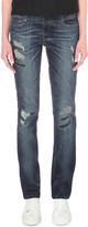 Diesel Belthy slim-fit low-rise turn-up jeans
