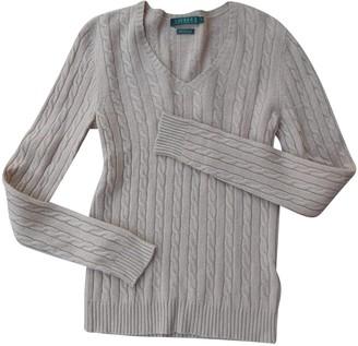Lauren Ralph Lauren Beige Cashmere Knitwear for Women
