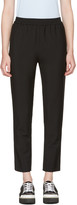 Harmony Black Plume Trousers