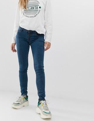 Noisy May front seam skinny jean