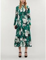 Erdem Josianne floral-print cotton-poplin midi dress