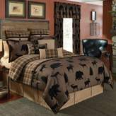 Croscill Summit California King Comforter Set in Brown