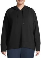 Athletic Works Women's Plus Size Active Fleece Hoodie