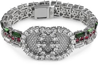 Gucci Crystal Web bracelet