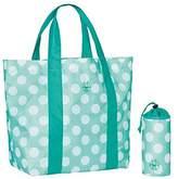 Lassig Splash & Fun Strandtasche - dots aqua Messenger Bag, 21 cm, Turquoise (Dots Aqua)
