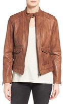 Bernardo 'Kerwin' Leather Jacket (Regular & Petite)