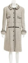 Chanel Patterned Wool Coat