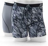 adidas Men's 2-Pack climalite Draven Print Boxer Briefs
