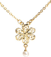 Lisa K Designs Baby Flower Choker in Gold : Lisa K Designs Women