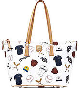 Dooney & Bourke MLB Brewers Zip Top Shopper