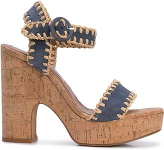 Tabitha Simmons Elena Whip platform sandals