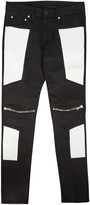 God's Masterful Children Corso Black Skinny Biker Jeans