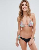 Pistol Panties Floral Top Charlotte Bikini Set