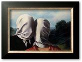 "Art.com Les Amants (Lovers)"" Framed Art Print By Rene Magritte"