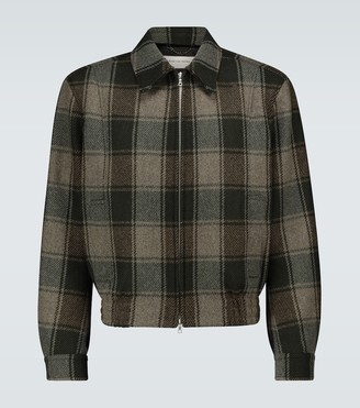 Dries Van Noten Checked wool jacket