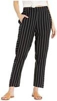 RVCA Chill Vibes Elastic Pants (Black Stripe) Women's Casual Pants