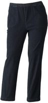 Croft & Barrow Plus Size Pull-On Tapered-Leg Jeans