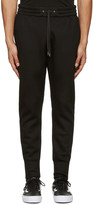 Helmut Lang Black Curved Leg Track Pants