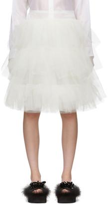 Simone Rocha White Tutu Skirt