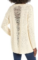 Astr Women's Slash Back Sweater