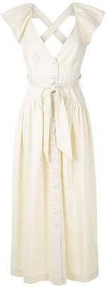 Framed Greta maxi dress