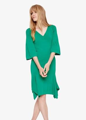 Phase Eight Kristyn V Neck Knit Dress