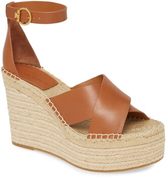 Tory Burch Selby Espadrille Wedge Sandal