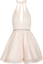 Alice + Olivia Brooke silk-chiffon and silk-organza dress