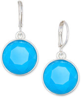 Charter Club Round Stone Drop Earrings, Only at Macy's