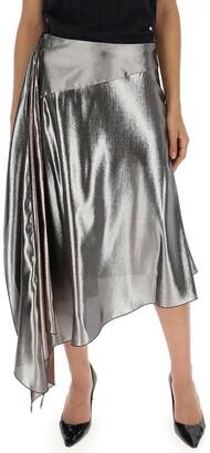 Givenchy Asymmetric Hem Skirt