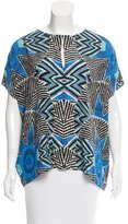 Mara Hoffman Oversize Short Sleeve Top