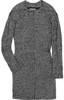 Burma textured woven cape coat