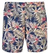 Burton Mens Palm Print Riviera Swim Shorts