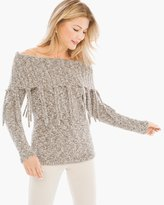 Chico's Fringed Laurissa Pullover
