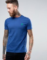 Ps By Paul Smith Paul Smith T-shirt With Ps Logo In Slim Fit Indigo