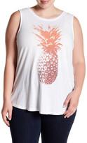 Lucky Brand Pineapple Tank (Plus Size)