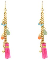 Juicy Couture Bahia Charm Drop Earrings