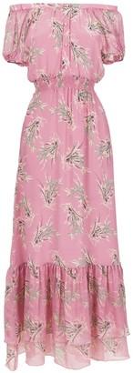Clube Bossa La Pomme long silk dress